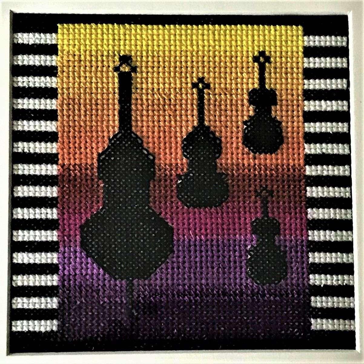 Quintet Silhouette by Linda Van Peene